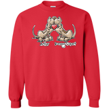 Tim's Droopy Rupert & Authur Gildan Crewneck Pullover Sweatshirt  8 oz. - The Bloodhound Shop