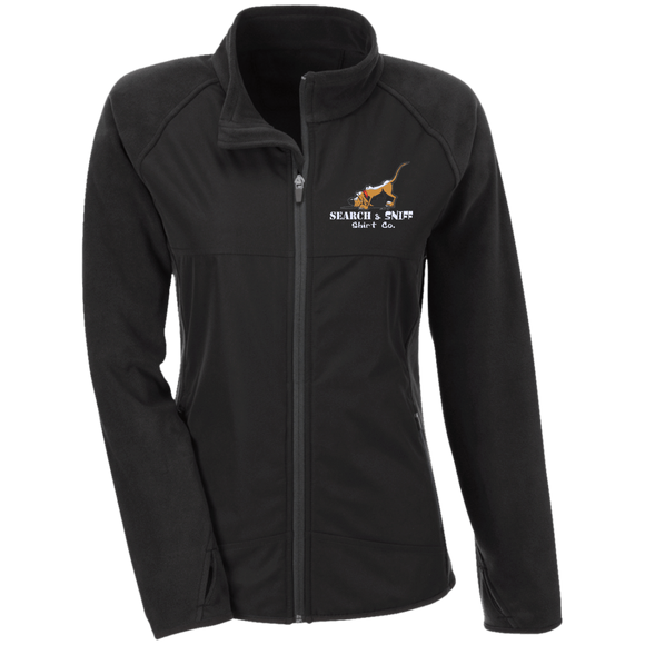 Search and Sniff Specialty Team 365 Ladies' Microfleece with Front Polyester Overlay - The Bloodhound Shop