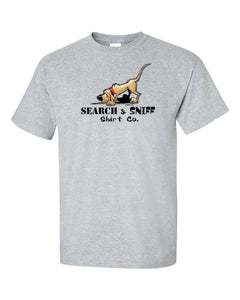Search & Sniff Short sleeve t-shirt