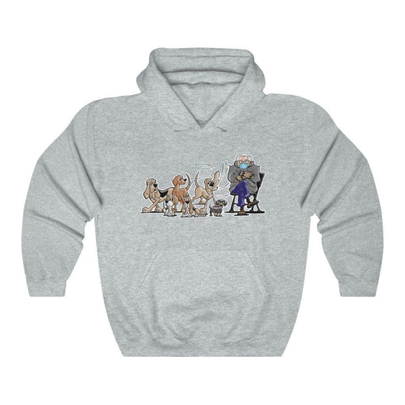 The Bern With the Hounds FBC Unisex Heavy Blend™ Hooded Sweatshirt