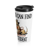Honor Student Hounds Stainless Steel Travel Mug - The Bloodhound Shop