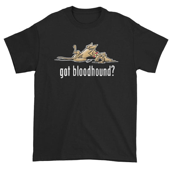 NEW Version Got Bloodhound? Dark Short sleeve t-shirt