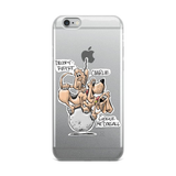 Tim's Wrecking Ball Crew 3 With NamesiPhone Case - The Bloodhound Shop