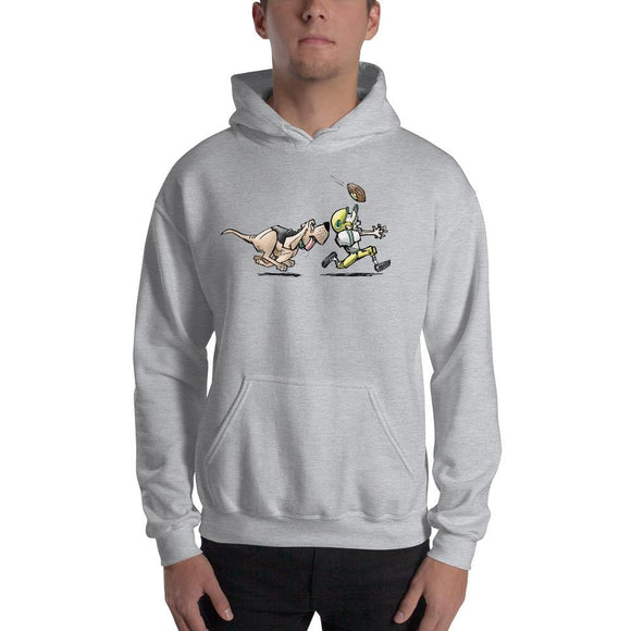 Football Hound Packers Hooded Sweatshirt - The Bloodhound Shop