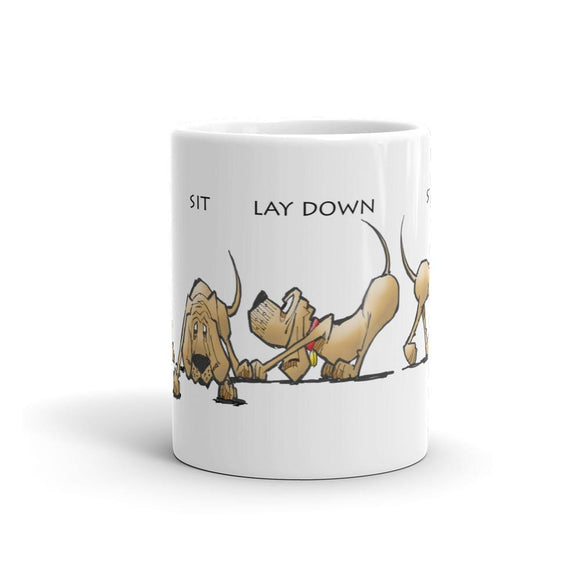 Sit Stay Lay Down - Mug