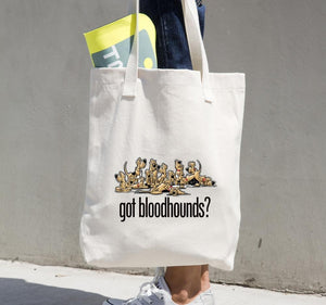 Got Bloodhounds? tote bag