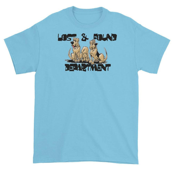 Lost & Found Hounds Short sleeve t-shirt - The Bloodhound Shop