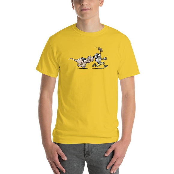 Football Hound Steelers Short-Sleeve T-Shirt | The Bloodhound Shop