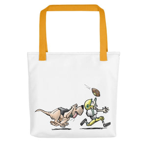 Football Hound Packers Tote bag - The Bloodhound Shop
