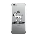 got bloodhound? iPhone case | The Bloodhound Shop
