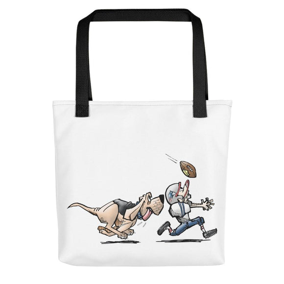 Football Hound Patriots Tote bag - The Bloodhound Shop
