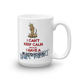 Tim's Keep Calm Droopy Rupert Mug - The Bloodhound Shop