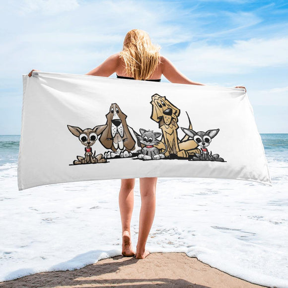 Blood is Thicker Lineup Towel - The Bloodhound Shop
