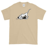 Search N Sniff Hound Logo Only Short sleeve t-shirt - The Bloodhound Shop