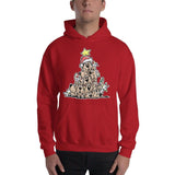 Christmas Tree Hound Hooded Sweatshirt - The Bloodhound Shop