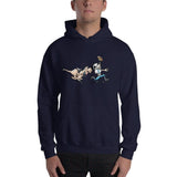 Football Hound Panthers Hooded Sweatshirt - The Bloodhound Shop