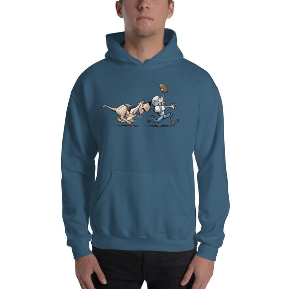 Football Hound Lions Hooded Sweatshirt - The Bloodhound Shop