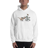 Football Hound Eagles Hooded Sweatshirt - The Bloodhound Shop