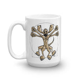 Da Vinci Mug - The Bloodhound Shop