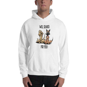 Search For You Hooded Sweatshirt - The Bloodhound Shop