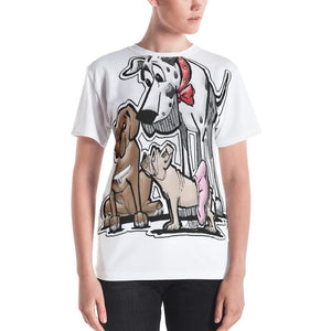 Judge Collection Women's T-shirt - The Bloodhound Shop