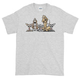 Blood is Thicker Lineup Short-Sleeve T-Shirt - The Bloodhound Shop