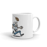 Football Hound Lions Mug - The Bloodhound Shop