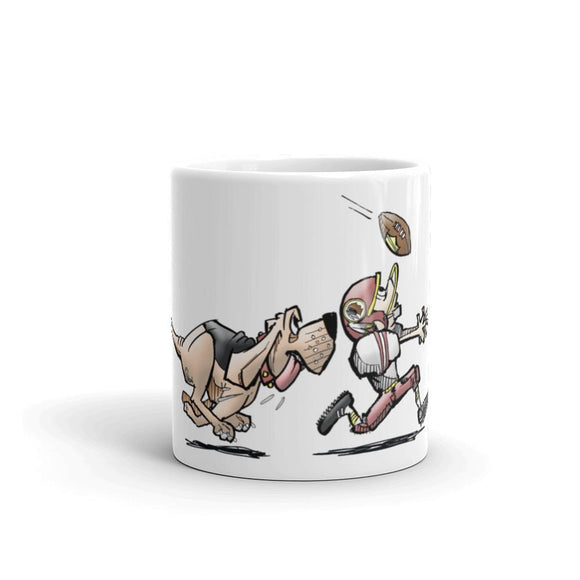Football Hound Redskins Mug - The Bloodhound Shop