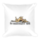 Judge Collection Square Pillow - The Bloodhound Shop