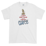 Tim's Keep Calm Charlie Short sleeve t-shirt