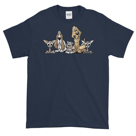 Blood is Thicker Lineup Short-Sleeve T-Shirt | The Bloodhound Shop