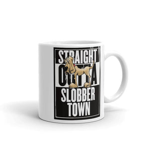 Slobber Town Hound Mug - The Bloodhound Shop