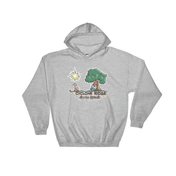 Cyclone Ridge Droolin Hounds Hooded Sweatshirt - The Bloodhound Shop