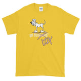 Got Izzy? X-Out Hound Dark Short sleeve t-shirt