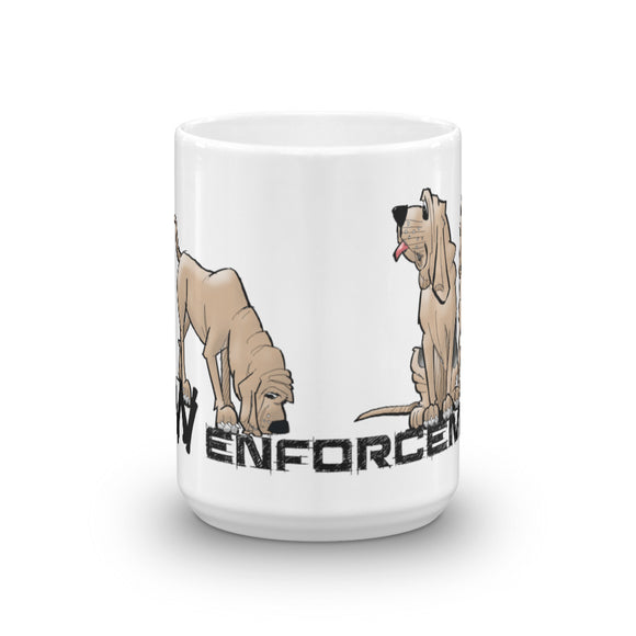 Paw Enforcement Mug