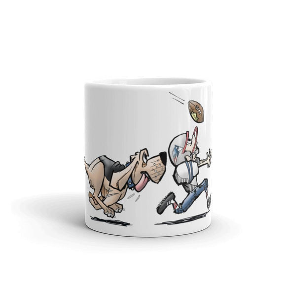 Football Hound Patriots Mug - The Bloodhound Shop