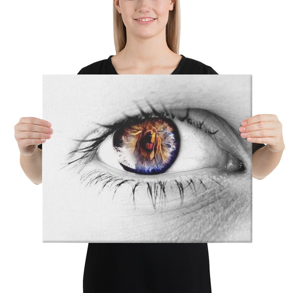 Eye of the Hound Melinda 2 Canvas - The Bloodhound Shop