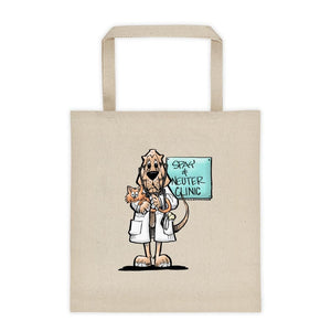 Veterinarian Hound Tote bag - The Bloodhound Shop