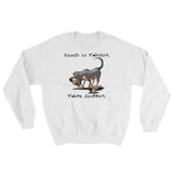 Blood is Thicker than Slobber Sweatshirt - The Bloodhound Shop