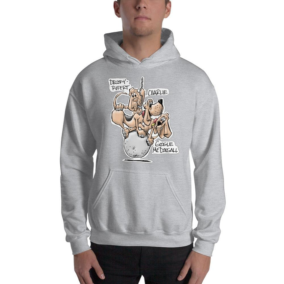 Tim's Wrecking Ball Crew 3 With Names Hooded Sweatshirt - The Bloodhound Shop