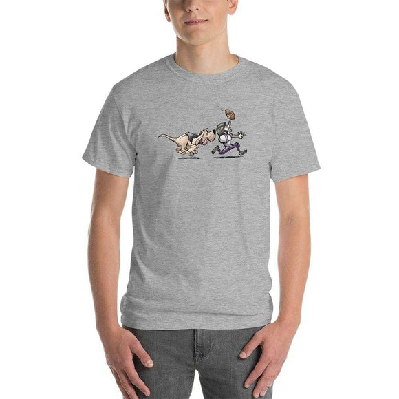 Football Hound Ravens Short-Sleeve T-Shirt - The Bloodhound Shop