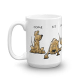 Sit Stay Lay Down - Mug | The Bloodhound Shop