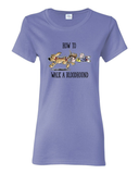 How to Walk a Hound Women's short sleeve t-shirt