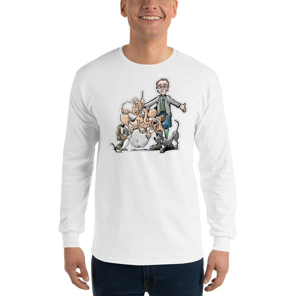 Tim's Wrecking Ball Crew w Tim Long Sleeve T-Shirt | The Bloodhound Shop