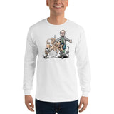 Tim's Wrecking Ball Crew w Tim Long Sleeve T-Shirt - The Bloodhound Shop