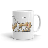 Sit Stay Lay Down - Mug - The Bloodhound Shop