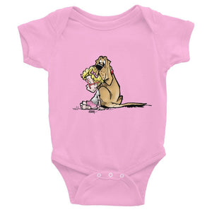 Emma & Molly Infant short sleeve one-piece - The Bloodhound Shop