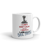 Tim's Keep Calm Basil Mug - The Bloodhound Shop