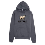 Pug- FBC Pug You! hoodie - The Bloodhound Shop