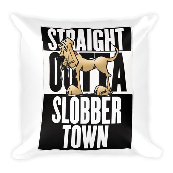Slobbertown Pillow - The Bloodhound Shop